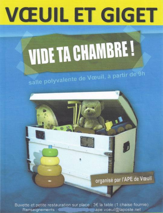 Voeuil-et-Giget - Vide ta chambre