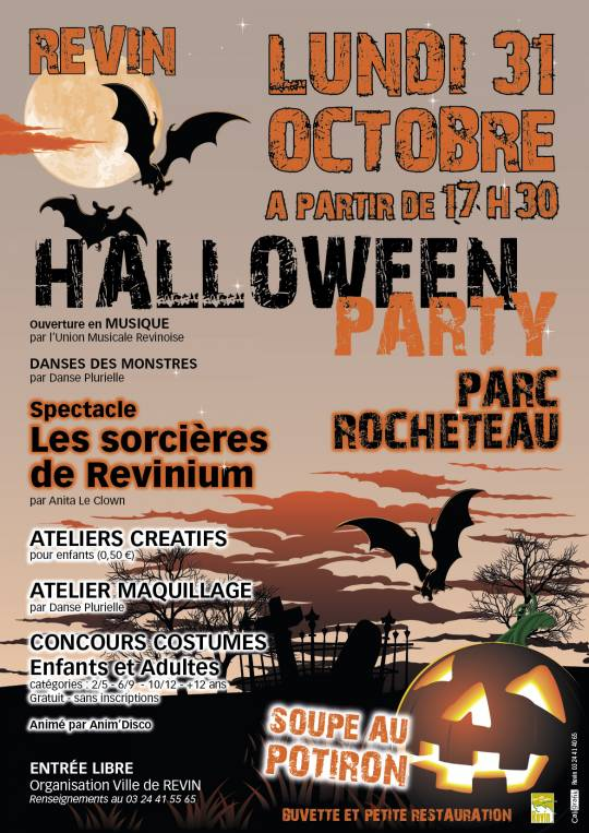 Revin - Halloween party