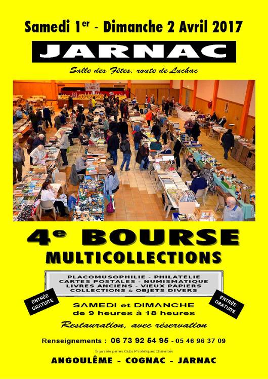 Jarnac - 4ème bourse multicollections