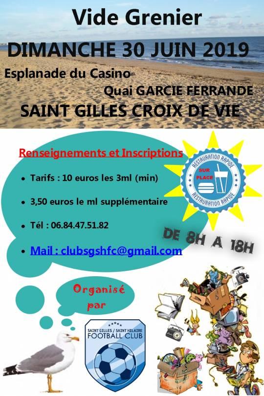 Saint Gilles Croix De Vie 85 Vide Greniers Et Brocantes