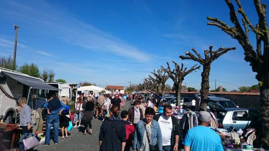 Semussac - Vide grenier - brocante de l'ascension