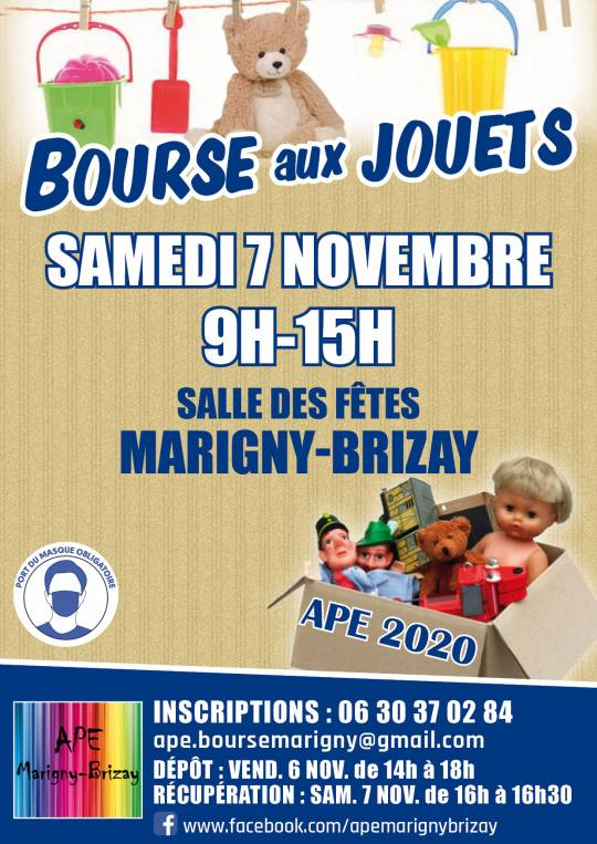 Marigny-brizay - Bourse aux jouets ANNULE